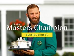 2020 Masters Champion