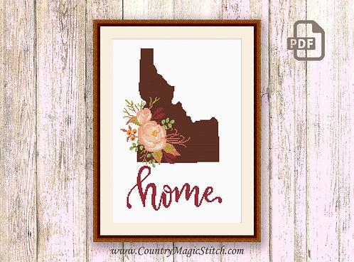 Idaho Cross Stitch Pattern #mp022