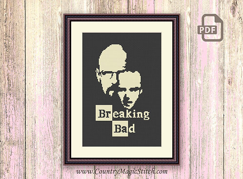 Breaking Bad Cross Stitch Pattern #oth005