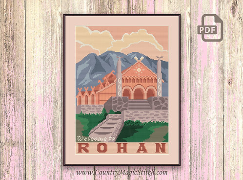 Welcome to Rohan Cross Stitch Pattern #tv019