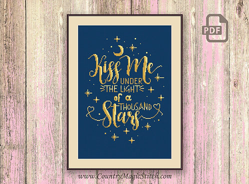 Kiss Me Under the Light of a Thousand Stars #v009