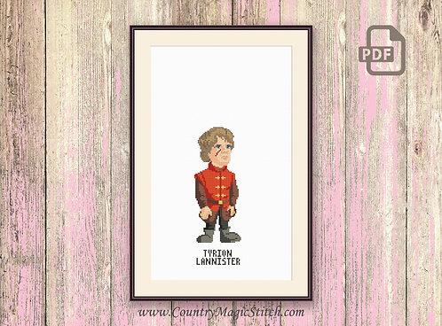 Tyrion Lannister Cross Stitch Pattern #got012
