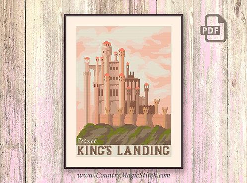 Visit King's Landing Cross Stitch Pattern #got001
