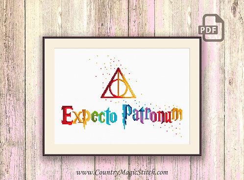 Wizards Cross Stitch Pattern #hp022