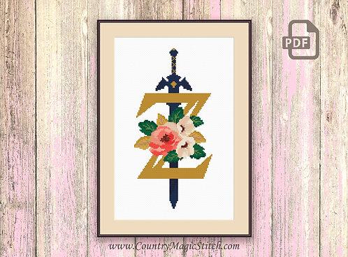 Legend of Zelda Cross Stitch Pattern #tv031