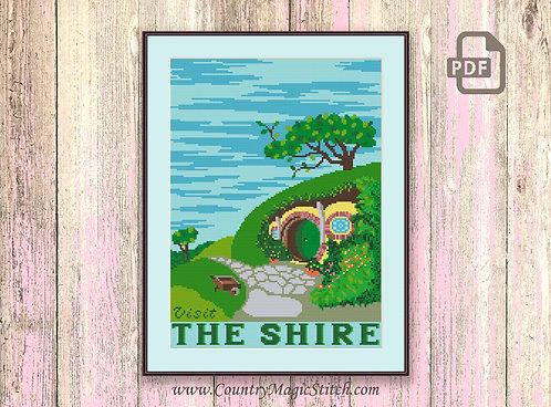 Shire Cross Stitch Pattern #tv007
