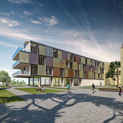Sustainable student housing.