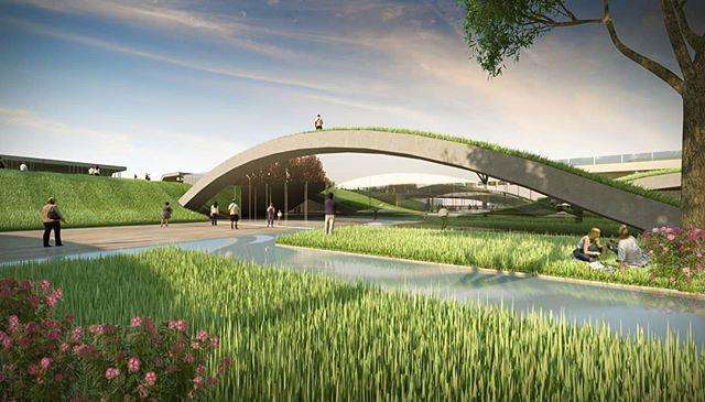 Undulating Garden concept by our Design Studio.