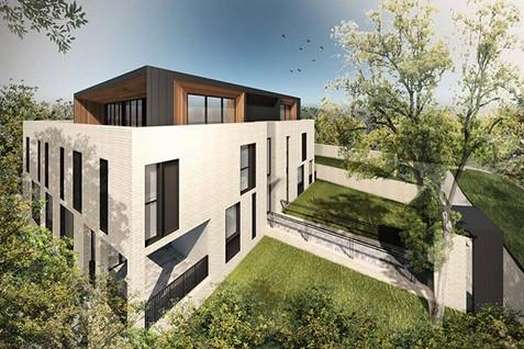 Multi-Residential apartments in progress.