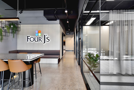 Industrial & Tactile fitout to Project Four Workplace.