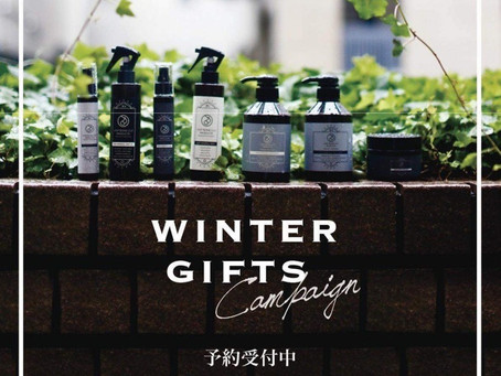 Winter Gift ご予約受け付けております♪