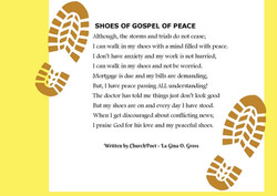 Shoes of Gospel of Peace