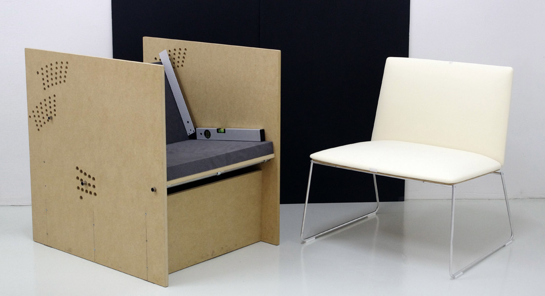 Segis Stamp lounge design by Alejandro V