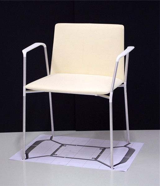 Stamp chair model 03 by Alejandro Valdes