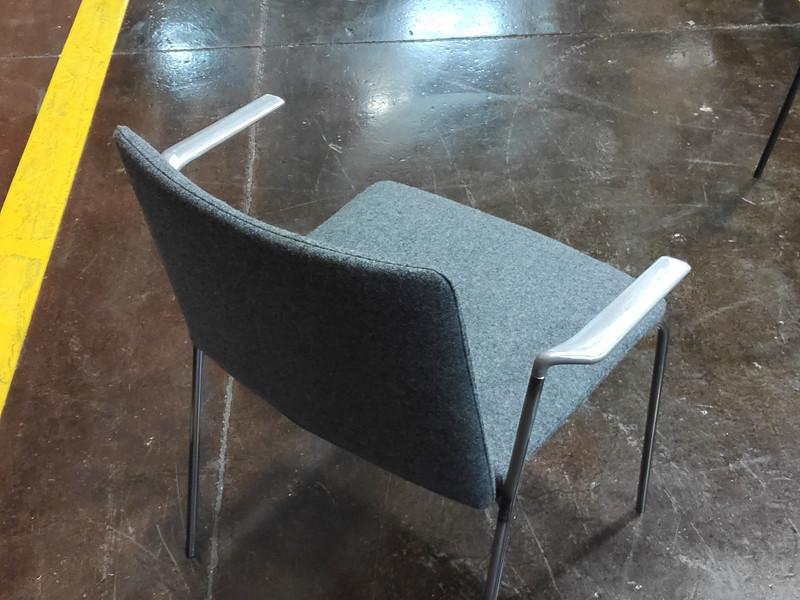 Stamp chair model 25 by Alejandro Valdes