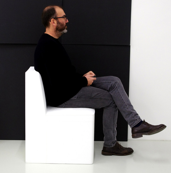 Stamp chair model 06 by Alejandro Valdes