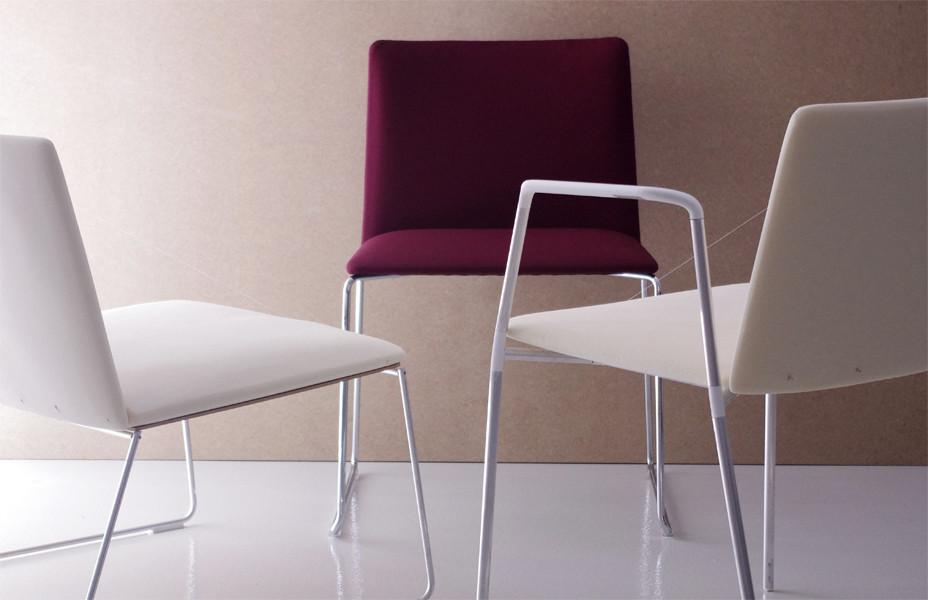 Stamp chair model 35 by Alejandro Valdes