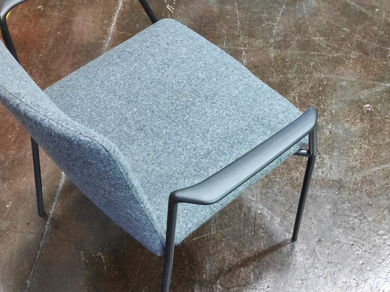 Stamp chair model 26 by Alejandro Valdes