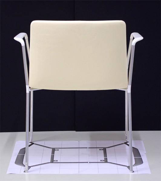 Stamp chair model 31 by Alejandro Valdes
