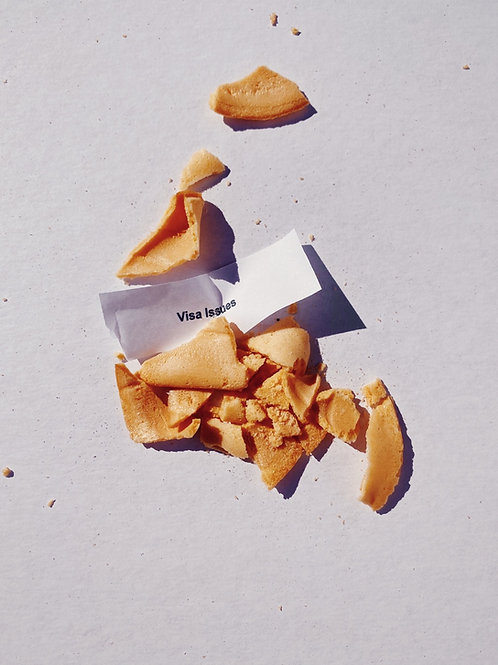 """No luck fortune"" cookie"