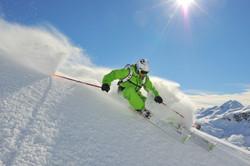 Skifahrerabseits