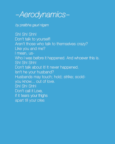 Aerodynamics (owned by Terribly Tiny Tales™)-Audiowave. A Spoken Word piece written by me for Terribly Tiny Tales, in collaboration with WaveNote: a vocal social networking app.   Voiceover by Prerna Nahata