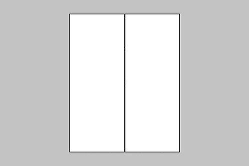 Caisson du haut 2 portes | BLANC