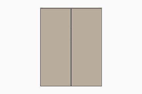 Caisson du bas avec 2 portes | GRIS PALE