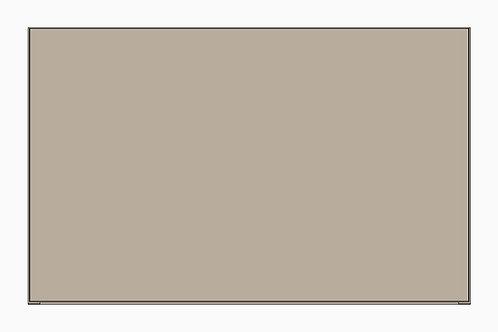 Caisson du haut porte relevante standard | GRIS PALE