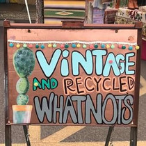 Vintage and Recycled Whatnots
