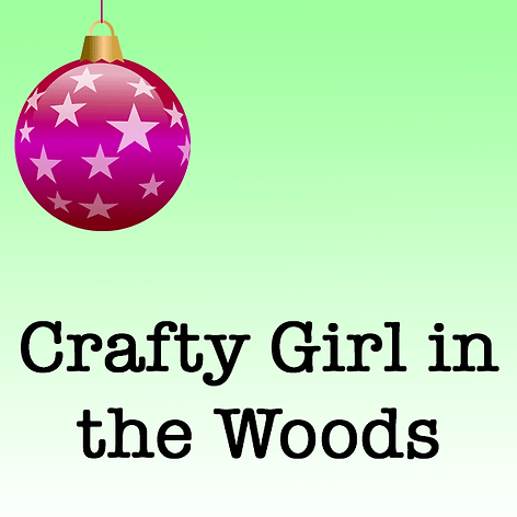 Crafty Girl in the Woods