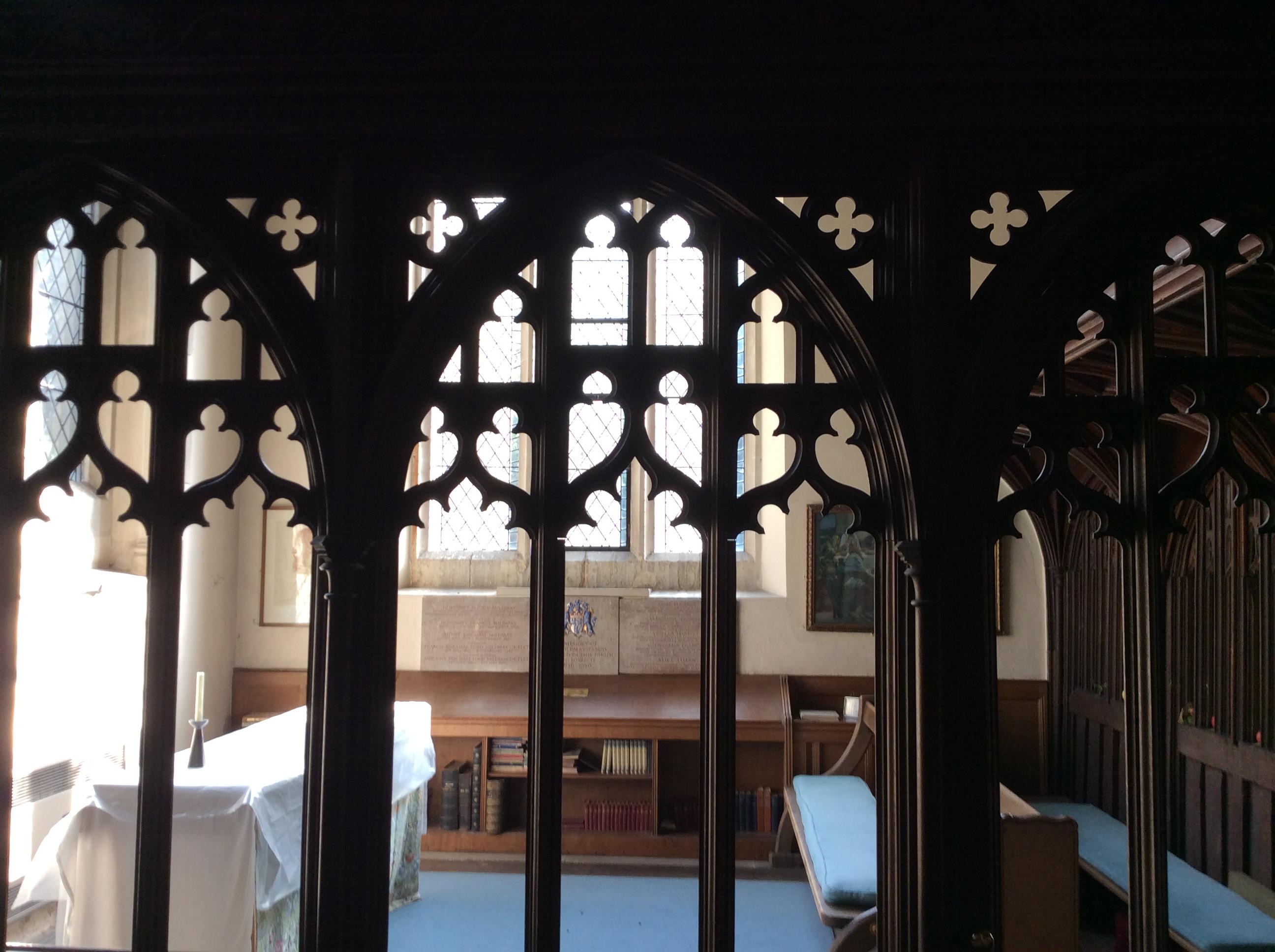 Tudor rood screen