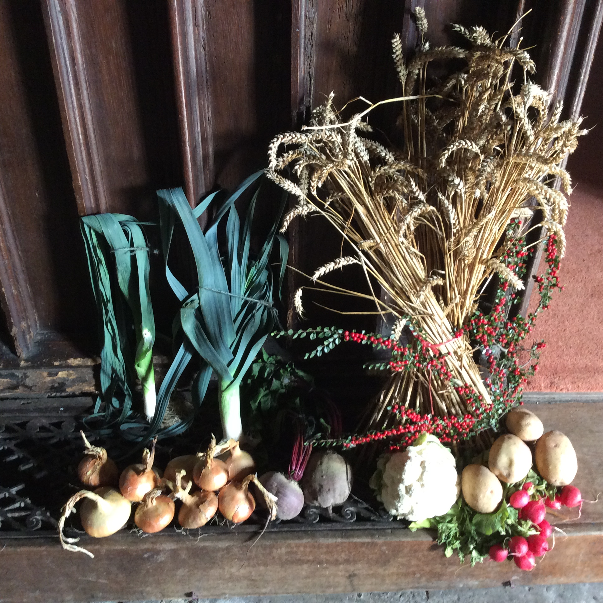 Harvest decorations
