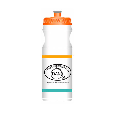 Penny Farthing Dan Water Bottle