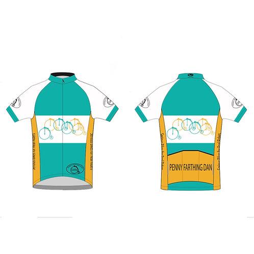 Penny Farthing Dan cycling jersey
