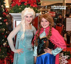 Snow Queen and Princess