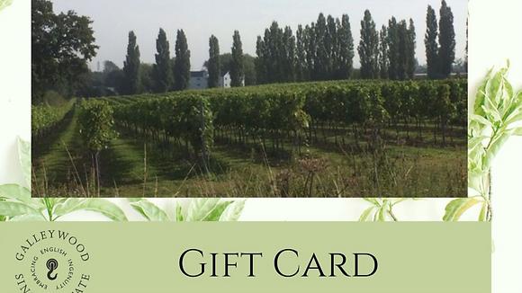 Gift Voucher - Vineyard Tour and Cream Tea
