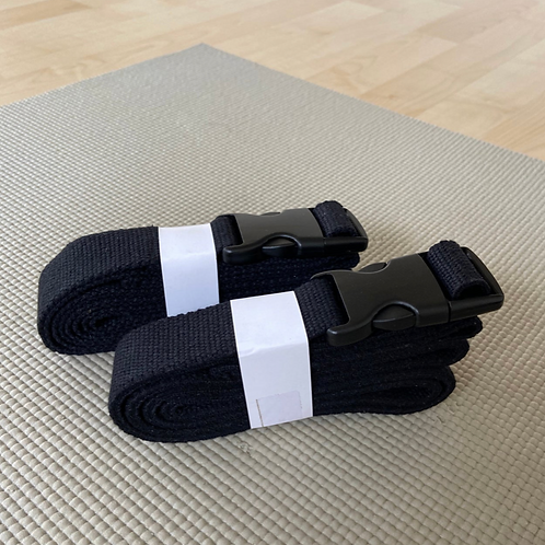 Yoga belt (black)