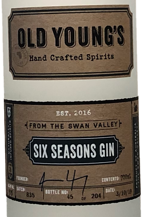 Old Young's Six Seasons Gin
