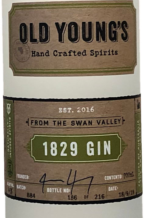 Old Young's 1829 Gin