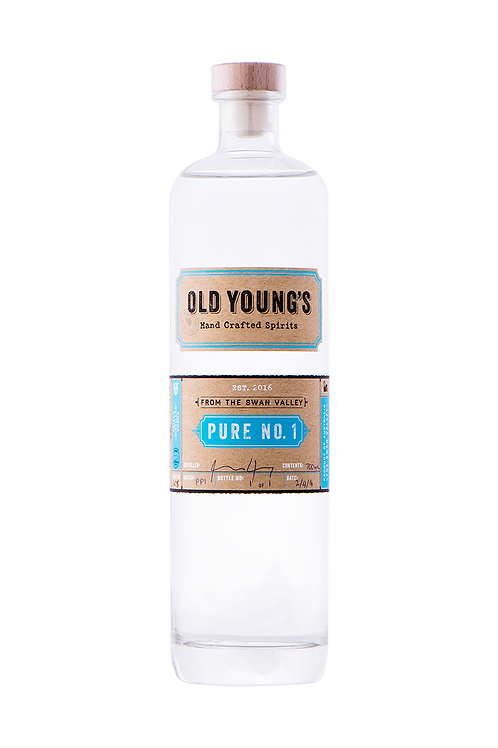 Old Young's Pure No.1 Vodka