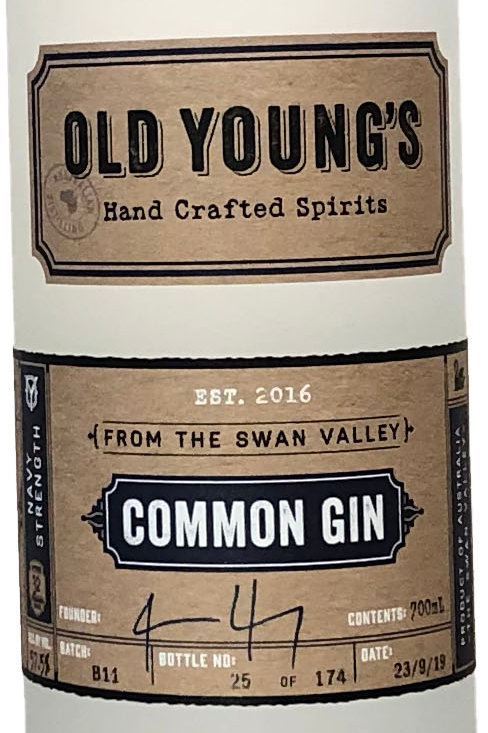 Old Young's Common Gin