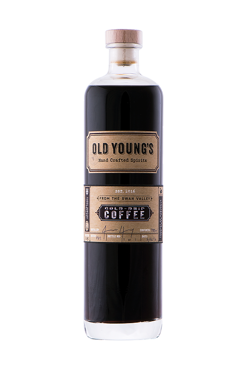 Old Young's Cold Drip Coffee Vodka