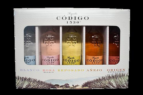 Código 1530 Tequila Sampler Pack  (5 x 50ml)