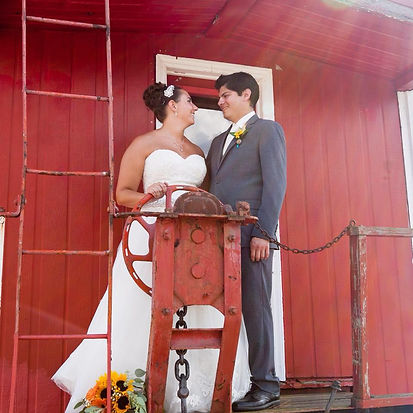 Couple on Caboose