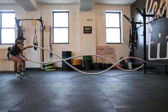 Entrenamiento de cuerda