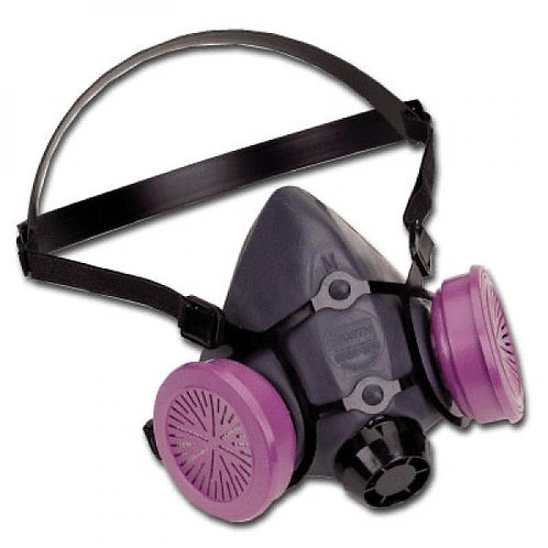 Half Face North Respirator with HEPA Filters