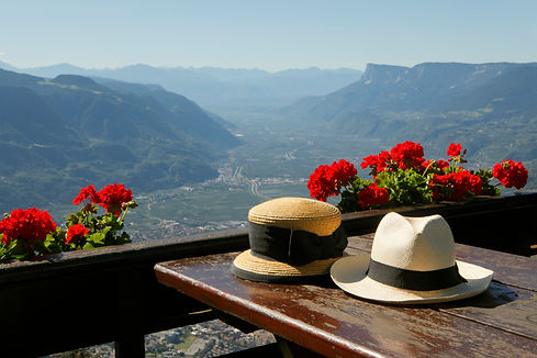 Our apartments offer a unique view over the Adige Valley , Vinschgau and valley of Passeier