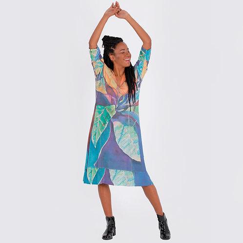 Vestidos en seda fría modelo 1003