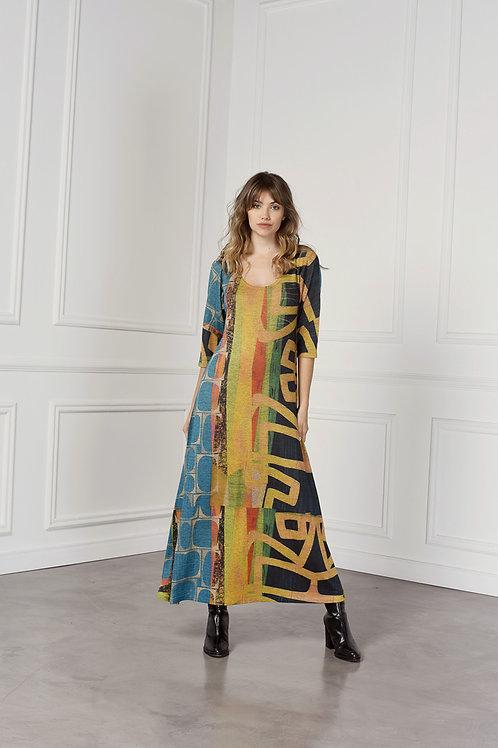 Vestido Largo Lanilla art.17131